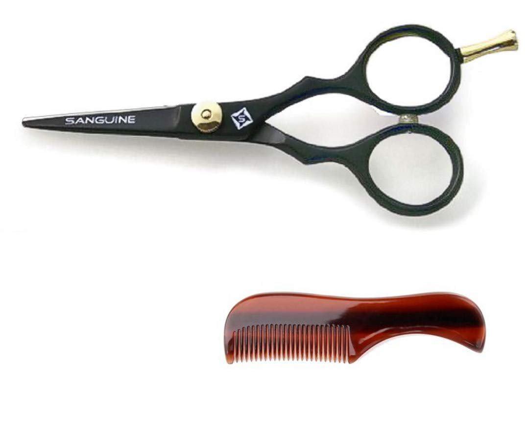 Professional Moustache Scissors Trimming Extremely