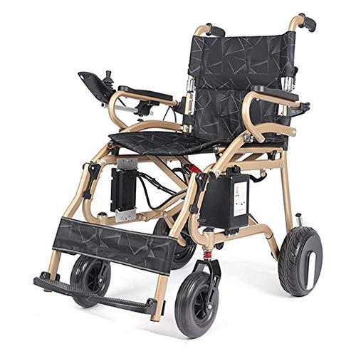 CANDYANA Faltbare Elektro-Rollstuhl bewegliche Aluminiumlegierung Leicht Brushless Motor Einhändige Joystick Motorisierte Rollstuhl