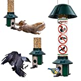 Squirrel Proof Wild Bird Feeder - Roamwild PestOff (Mixed Seed/Sunflower Heart...