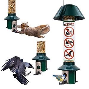 Roamwild Squirrel Proof Wild Bird Feeder PestOff