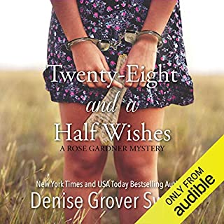 Twenty-Eight and a Half Wishes audiobook cover art