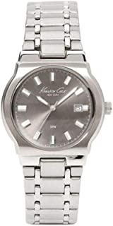 Kenneth Cole Men's Stainless Steel Dark Grey Dial Analog Watch KC3170