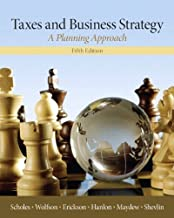 Best taxes & business strategy 5th edition Reviews