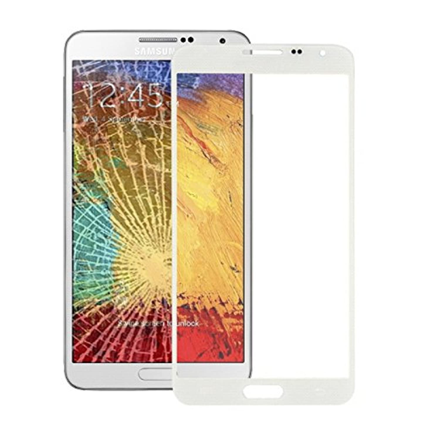 iPartsBuy Front Screen Outer Glass Lens for Samsung Galaxy Note 3 Neo N7505(White)