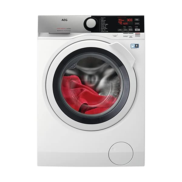 AEG L7WEE861 Independiente Carga frontal A Blanco lavadora con secadora – Lavadora con secadora (Carga frontal…