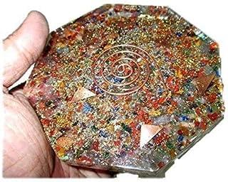 Mix Edelsteen Achthoek Vastu Plaat Energie Generator Crystal Edelstenen Unieke Zeldzame Wetenschap Bouw Vedische Astrologi...