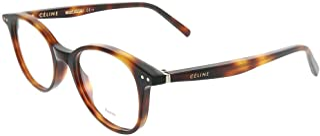 Plastic Round Eyeglasses 005L Havana