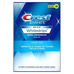 Crest 3D White Whitestrips Classic Teeth Whitening Kit