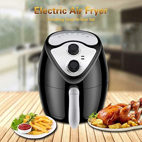 51Q1PNAj hL. SL500  - GAOFQ Luftfritteuse mit schnellem Luftzirkulationssystem und Timer und Einstellbarer Temperaturregelung für gesundes ölfreies oder fettarmes Kochen 1300 W 2,6 Liter Schwarz