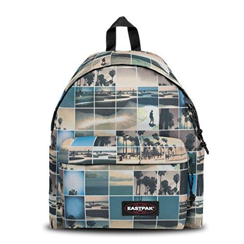 Eastpak Padded Pak'R, Zaino Casual Unisex – Adulto, Multicolore (Sky Filter), 24 liters, Taglia Unica (30 x 18 X 40 cm)