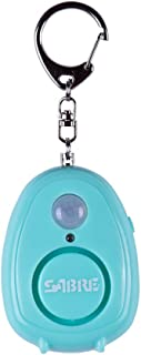 Sabre Personal Alarm with Motion Detector, Magnet & Key Ring – Loud 120dB Alarm - Hear Up to 600' (185m) Away