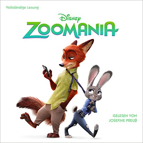 Zoomania                   By:                                                                                                                                 N. N.                               Narrated by:                                                                                                                                 Josefine Preuß                      Length: 2 hrs and 15 mins     1 rating     Overall 4.0