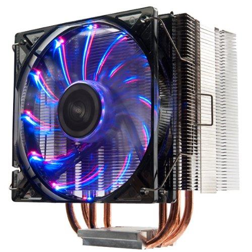Enermax ETS-T40-VD T.B. Vegas Duo CPU-Kühler (PWM 120mm) für Sockel 775/1155/1156/1366/2011/AMD/AM2/AM2+/AM3/AM3+/FM1