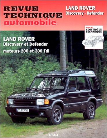 E.T.A.I - Revue Technique Automobile 564.2 - LAND - ROVER DISCOVERY I - 1990 à 1998 PDF Books