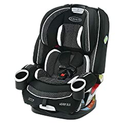 4-in-1 car seat gives you 10 years of use: seamlessly transforms from rear-facing harness car seat (4-40 pounds ), to forward-facing harness car seat (22-65 pounds ), to highback belt-positioning booster (40-100 pounds ), to backless belt-positioning...