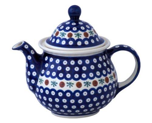 Original Bunzlauer Keramik Kaffeekanne 1,70 Liter im Dekor 41