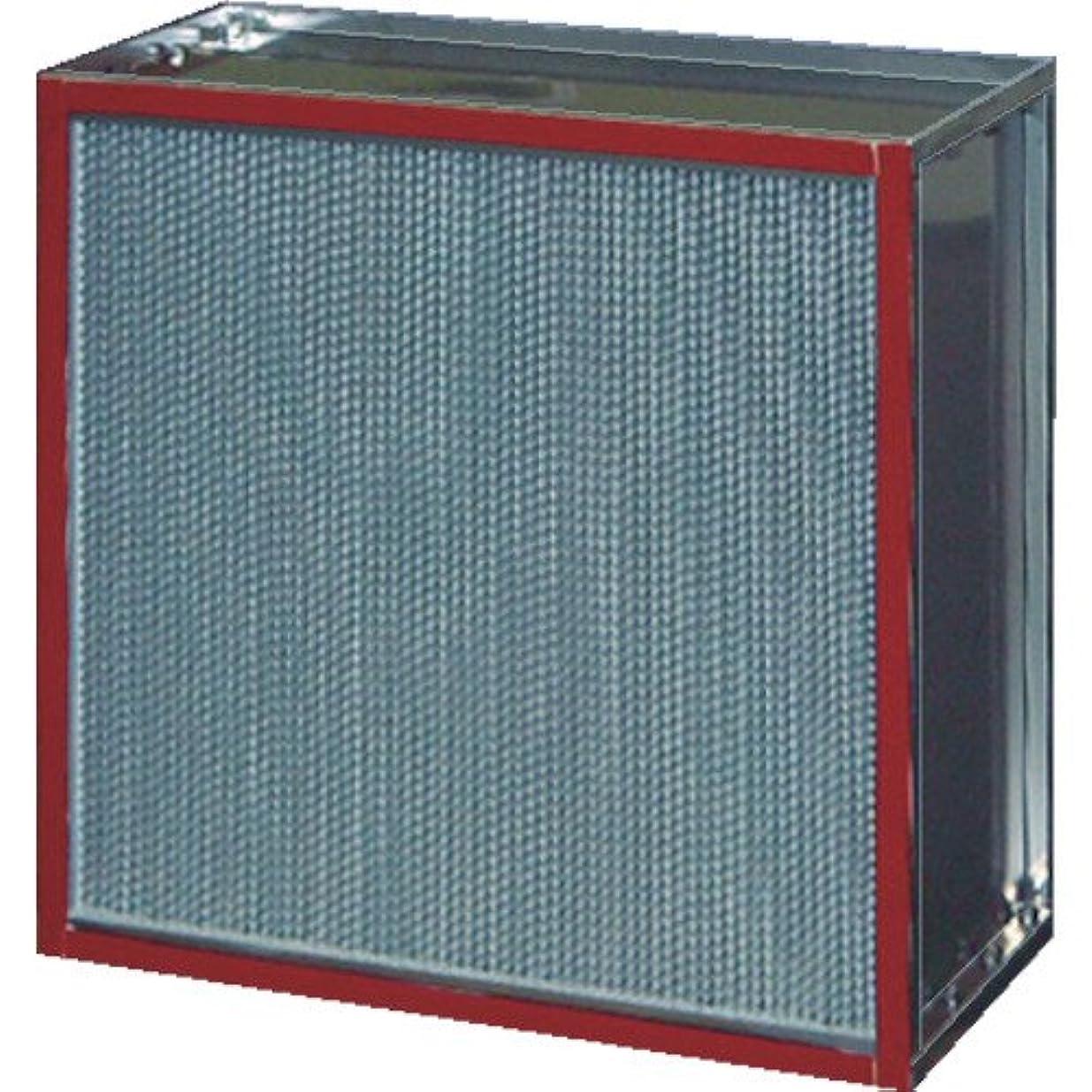 枕粘土表面日本無機(株) 日本無機 耐熱180度中性能フィルタ 610×610×290 ASTCE-56-95ES4 418-6559 《空調用フィルター》
