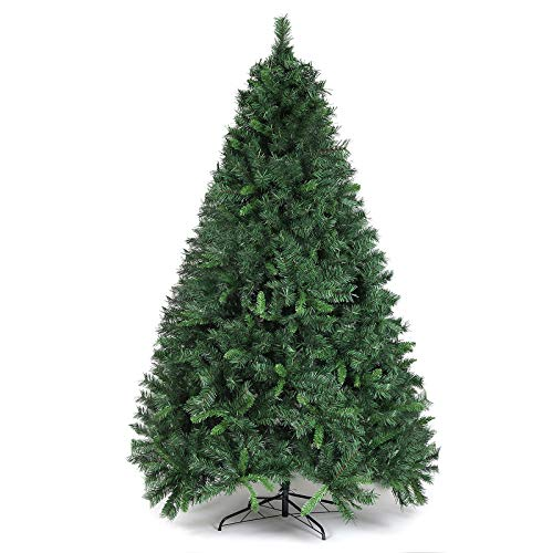 SALCAR Sapin de Noël 210cm, artificiellement avec 868 Pointe