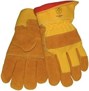 Tillman 1578 Split Cowhide Cotton Foam Lined Winter Gloves Large by J Tillman
