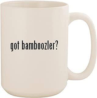 got bamboozler? - White 15oz Ceramic Coffee Mug Cup