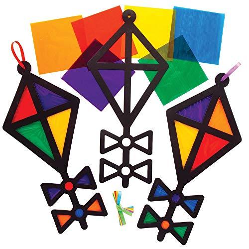 Baker Ross Vlieger Zonnevanger Raamdecoraties (6 Stuks) Knutselsets en Knutselspullen voor Kinderen