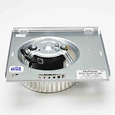 Nutone Motor (8663RP) Assembly # 97017705 1550 RPM; 1.2 amps, 115 volts