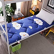 Futon mattressThick Mattress Topper, Traditional Japanese Futon Premium Mattress Tatami mat Sleeping for Student Dormitory...