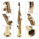 Immagine 2 muslady sassofono soprano bb dritto