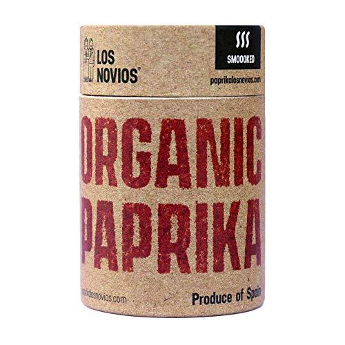 Pimentón Ecológico Ahumado 60 g - Paprika BIO Los Novios