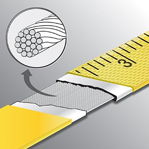 Komelon 6622 Open Reel Fiberglass Tape Measure, 200-Feet