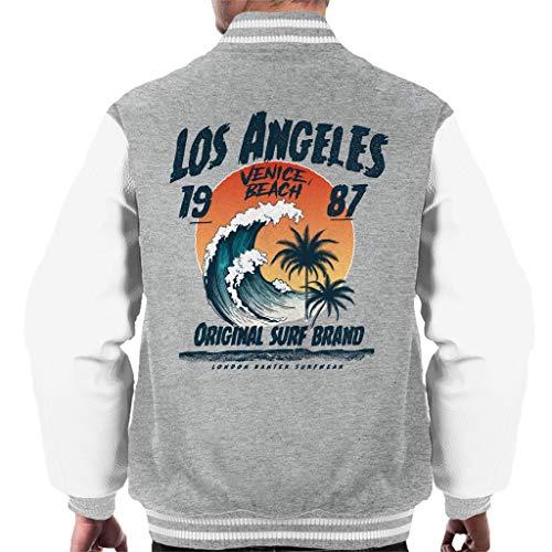 London Banter Los Angeles Original Surf Men\'s Varsity Jacket