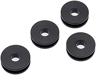 Detachable Windshield Bushing Grommets Motorcycle Parts 4Pcs For Harley Road King Heritage Softail