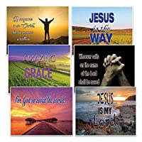 SALVATION CHRISTIAN POSTCARDS (12-Pack) - PERFECT GREETING CARDS TO REMIND SOMEONE YOU LOVE ABOUT GOD'S SALVATION [並行輸入品]