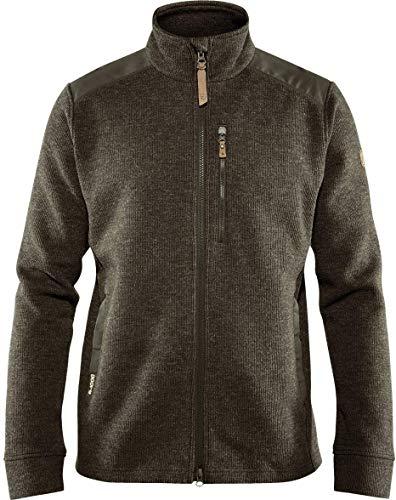 Fjallraven Herren Singi Fleece Jacket M Sweatshirt, Dark Olive, L