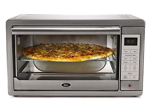 Oster TSSTTVXLDG Extra Large Digital Toaster Oven, Stainless Steel