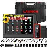 LAUNCH X431 V PRO 5.0 2021 Upgraded Model Bi-Directional Scan Tool Full System Scanner,31+ Relearn Reset Service,Key Program,Coding, Active Test,AutoAuth FCA SGW,Full Connector Kits,Free Update