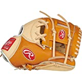 Rawlings Heart of The Hide Baseball Glove, Tan/Camel, 11.5 inch, Pro I Web, Right Hand Throw