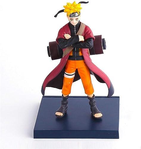 OHGQY Naruto Personnage Anime Modèle Matériel PVC Naruto Sculpture en Boîte Statue Décoration Environ 16 Cm De Haut Modèle de Jouet