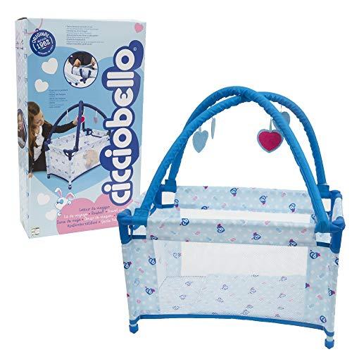 Giochi Preziosi- Cicciobello Tétine Travel Bed, CCB26000, Multicolore