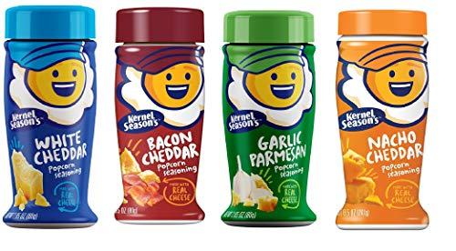 Kernel Season's Cheesy Seasoning Variety Pack, 2.85 Ounce Shakers (4 Pack)