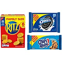 3-Pack Oreo, Ritz, and Chips Ahoy Snack Variety Pack