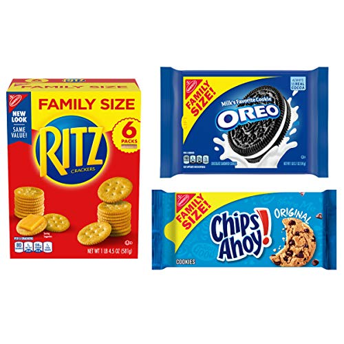 OREO, RITZ, & CHIPS AHOY! Snack Variety Pack Now $6.66
