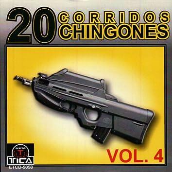 20 Corridos Chingones vol.4