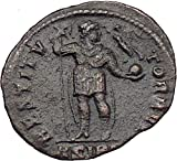 1 IT Valens Ancient Roman Coin Labarum...