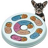 Aprilye Interaktives Hundespielzeug, Intelligenzspielzeug für Hunde, Hundenapf Interessant, Hunde-Gehirnspiele, Verbessern IQ für Welpen Hunde