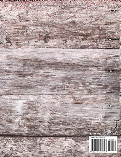 Planificador y Agenda de Mis Quince: Organizador y Cuaderno de Quinceañera Rústica con Zapatilla Blanca