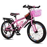 YUCHEN- Bicicletas bicicleta del niño / 18inch / 20inch / 22inch Viajes Niño Niña Estudiante de bicicletas bicicletas de velocidad variable \ \ u200B u200bCustomization bicicletas 5 ~ 15 años a la int