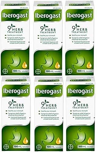 Iberogast Pflanzliches Heilmittel, 100 ml (6 Flaschen)