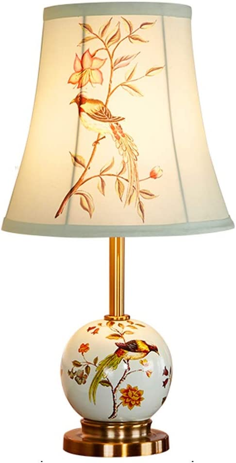 HONGFEISHANGMAO Sales of SALE items from new works Desk Lamps Ceramic Table Bedside Lamp La Ranking TOP10 Bedroom