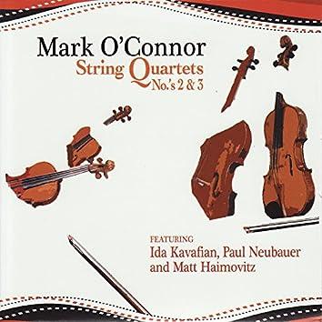 Mark O'Connor: String Quartets No.'s 2 & 3